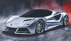 Tam elektrikli hiper otomobil: Lotus Evija
