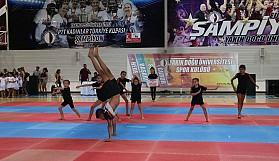 Cimnastikte dev şölen