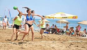 Plaj hentboluna da Esentepe damgası