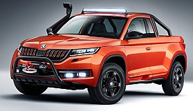Skoda'dan off-road özellikli pick-up