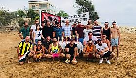 Kumyalı plajında, anlamlı turnuva