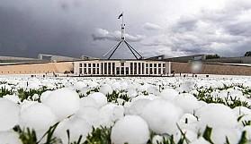 Avustralya'yı bu kez de dolu vurdu