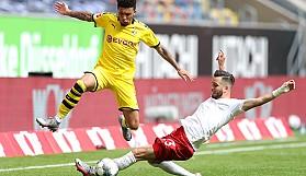 Haaland'dan Borussia Dortmund'a hayat öpücüğü