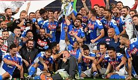 İtalya Kupası penaltılarla Napoli'nin