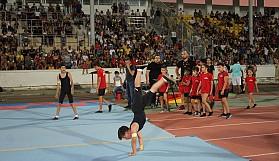 Cimnastikte muhteşem gece