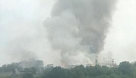 Sakarya Hendek'te havai fişek fabrikasında patlama