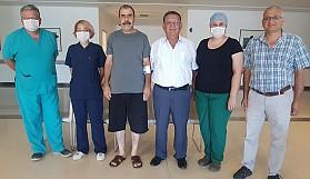 YDÜ'den bir ilk daha: Üç boyutlu tümör ameliyatı