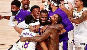 Lakers 17. şampiyonluğuna ulaştı