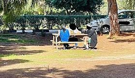 Yasağa rağmen piknik
