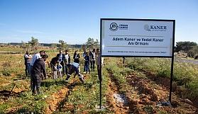 Adem Kaner ve Vedat Kaner anısına Kalkanlı'da anı ormanı oluşturuldu