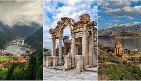 Türkiye'de Mutlaka Görülmesi Gereken Tarihi ve Turistik Yerler