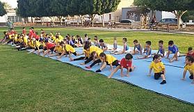 Vadili'de Cimnastik coşkusu yaşandı