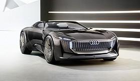 Audi lüksünün geleceği; skysphere concept