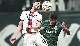 Beşiktaş, Avrupa'da dağıldı