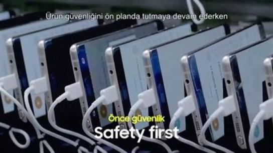 Samsung Galaxy Note 7'deki sorunu hazırladığı kısa videoyla özetliyor